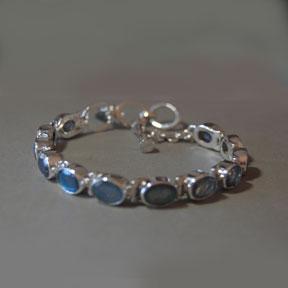 Ovals Of Labradorite Bracelet